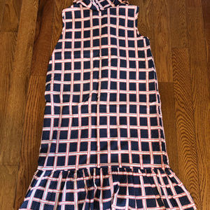 Vintage Dresses - 50s 60s Country Dress Skirt Checker Pattern